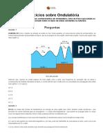Exercícios de Ondulatória I - Brasil Escola