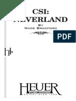 Neverland Csi Script