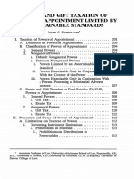 Estate and Gift Taxation of Powers of Appointment Limited by Asce.pdf