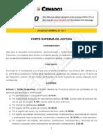 Decreto CSJ 24-2011