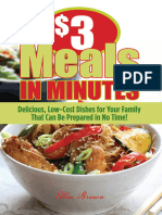 $3 Meals in Minutes Delicious, Low-Cost Dishes for Your Family That Can Be Prepared in No Time!