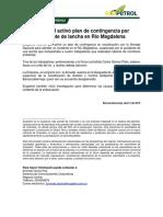 Comunicado Ecopetrol Desaparecido