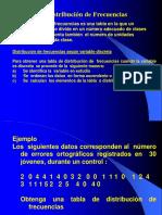 Estadística Nº2 - Distribución de frecuencias,probabilidades y distribución de probabilidad.ppt