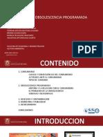 Diapositivas Consumismo y Obsolescencia programada