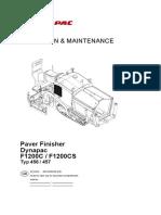 Dynapac F1200C FW1200CS