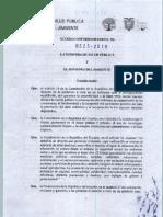 AM 0323 2019 Reglamento Para Gestión Initegral de Los Residuos y Desechos Generados en Establecimientos de Salud