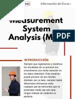 Curso Measurement System Analysis (MSA)
