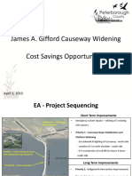 James A. Gifford Causeway Widening Options