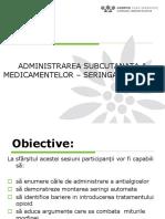 Metode Si Cai de Administrare a Antialgicelor-SA, Miturile Morfinei
