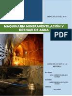 maquinaria minera ventilacion y drenaje.docx