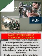 Presentacion Guerrilla Colombiana