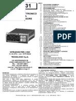 Manual Del Controlador de Temp de DY