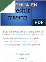Yeshua en Bereshit