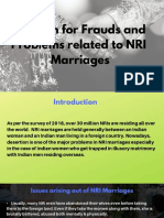 NRI Marriages - Do's and Don'ts