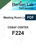 CC F224 Layout Options