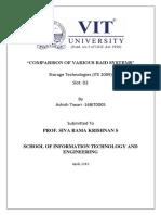 COMPARISON OF VARIOUS RAID SYSTEMS.docx