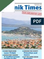 The Sibenik Times, July 26th 2008.