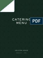 HH Catering Menu