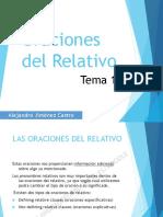 Tema 18 - Las Oraciones del Relativo (Relative Clauses)
