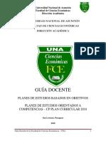 Guía Docente Plan 2018 - Orientada a Competencias