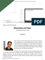 Matemática Do Poker - Edição 15 _ CardPlayer.com.Br - Revista Online de Poker