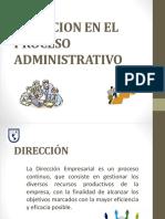 Direccion en el proceso administrativo