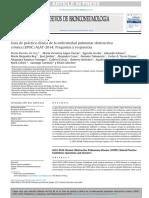 Guía de práctica clínica de la enfermedad pulmonar obstructiva crónica (EPOC) ALAT-2014- Preguntas y respuestas