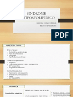 001d.- Sindrome Antifosfolipidico