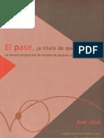 El pase, a título de qué [José Attal].pdf