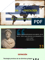 Historie de la Psychologie - Septiembro 2018.ppsx