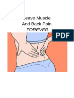 Leave Muscle and Back Pain