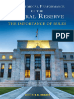 The Historical Performance of the Federal Reserve