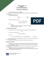 Electroacústica I y II Capítulo 1 Principios de Electricidad y Magnetismo