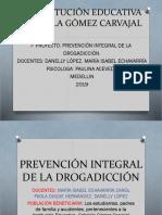 Proyecto de La Drogadicción-2019