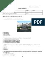 Prueba Derechos 6 Basico