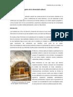 Arquitectura Como Testigo de La Pluralidad Cultural