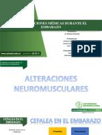 COMPLICACIONES MÉDICAS DURANTE EL EMBARAZO