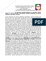 ACTA DE REUNIÓN DE ASESORÍA