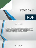Metodo Ahp Cadena