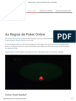 Regras de Poker - Aprenda as Regras de Poker No PokerStars