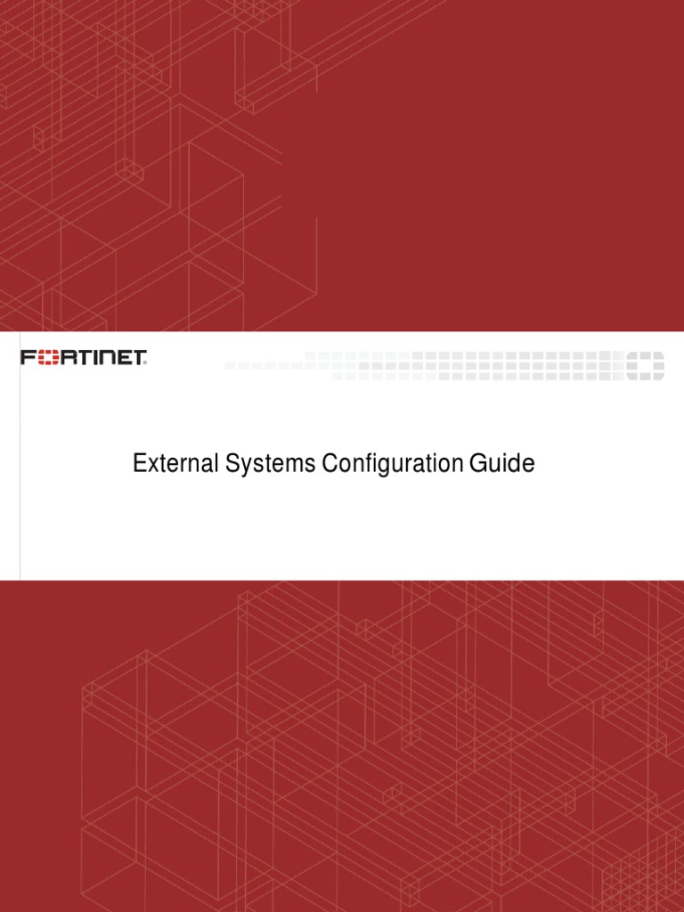 fortisiem-external-systems-configuration-guide(1) pdf | Operating