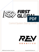 20180507_FIRST Global Control System Startup Guide