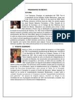 PRESIDENTES DE MÉXICO 12.docx