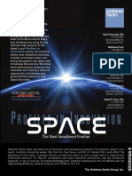 Goldman Sachs 2017 - Research Briefing on Space