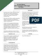 AB 1465 - Fact Sheet