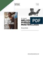 Aj Melphrasingmasterclass Essentials Tab