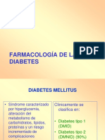 Farmacologa de La Diabetes