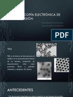 Microscopía Electrónica de Transmisión