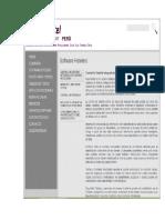 Informacion de Sofware Agencia y Hoteles