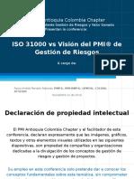 ISO 31000 vs Gestión de riesgos PMI